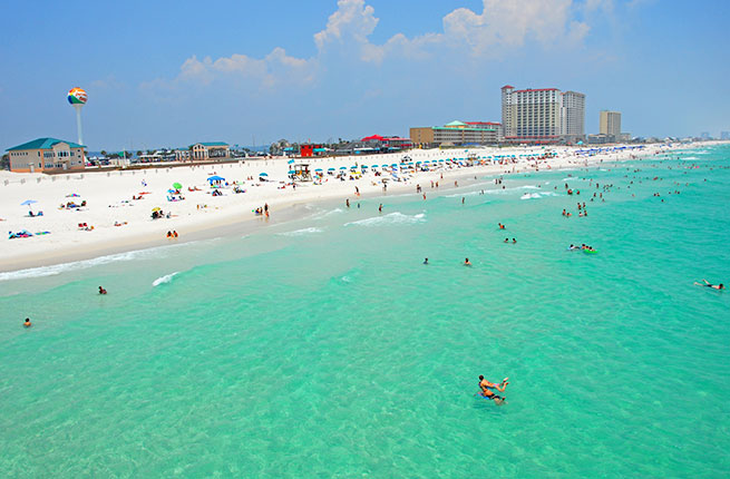 How Far Is Panama City Beach From Tampa
